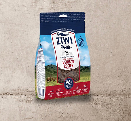 Ziwi Air Dried Venison for Dogs 454g