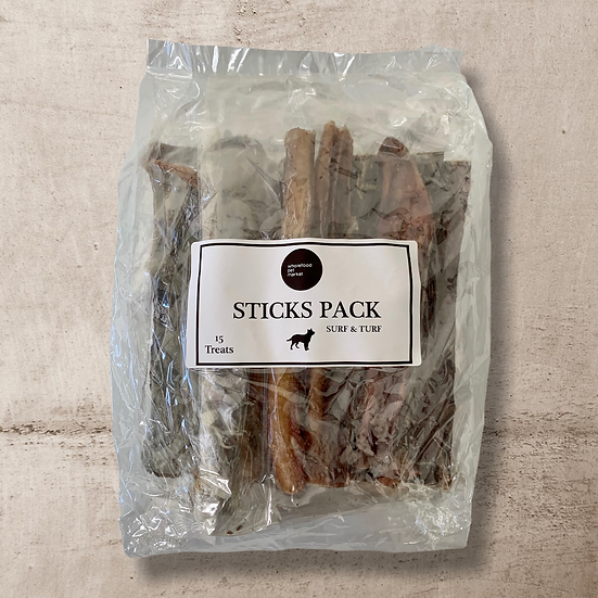 Sticks Pack ~ Surf & Turf Treats