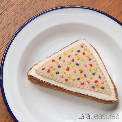 Felt Fairy Bread for Cats with Catnip