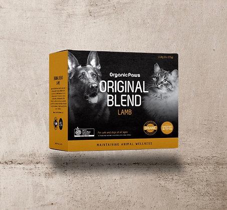 Organic Paws Lamb Original Blend 2.2kg