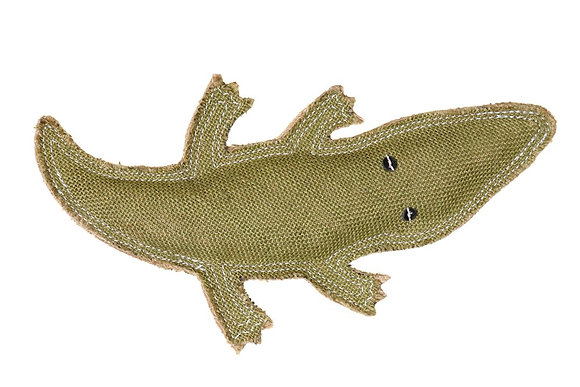 Crocodile Jute Toy ~ Outback Tails