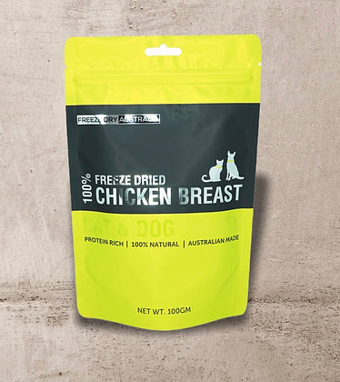 Freeze Dry Australia Chicken Breast 100g