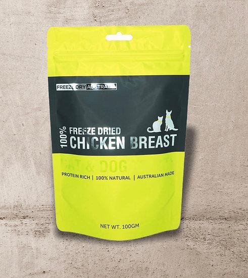 Freeze Dry Australia Chicken Breast 100g