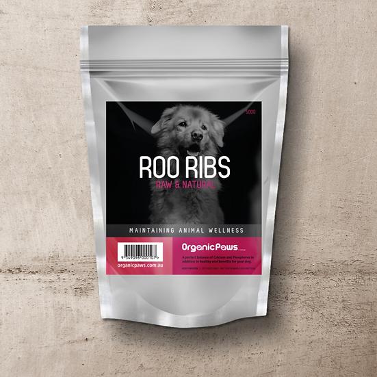 Organic Paws Roo Ribs 500g