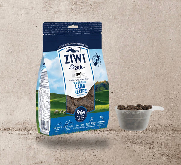 Ziwi Air Dried Lamb for Cats 400g