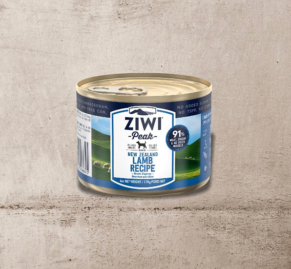 ZIWI Peak Can Lamb Recipe for Dogs 170g