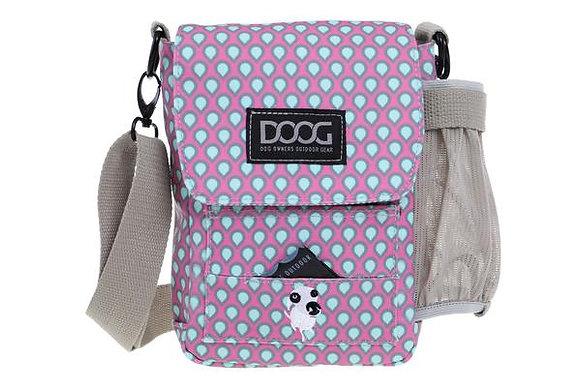 Doog Walkie Bag ~ Pink & Green Tear Drop