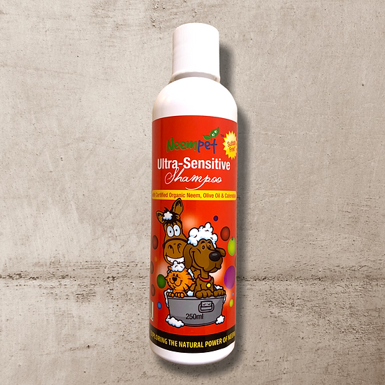 Neempet Ultra Sensitive Shampoo - Sulfate Free