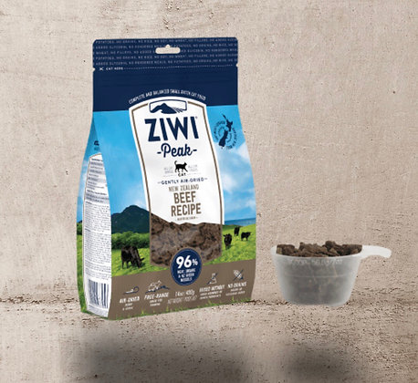 Ziwi Air Dried Beef for Cats 400g