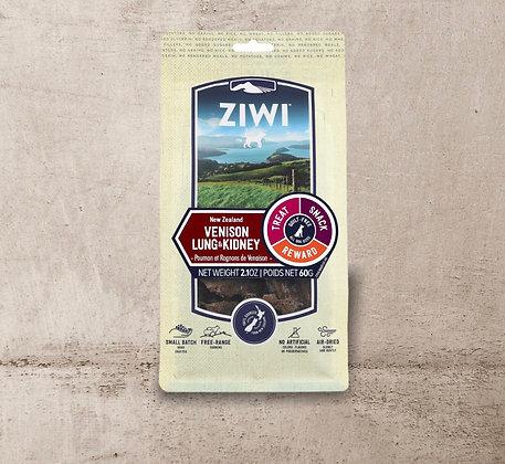 Ziwi Pets Venison Lung & Kidney Treat 60g