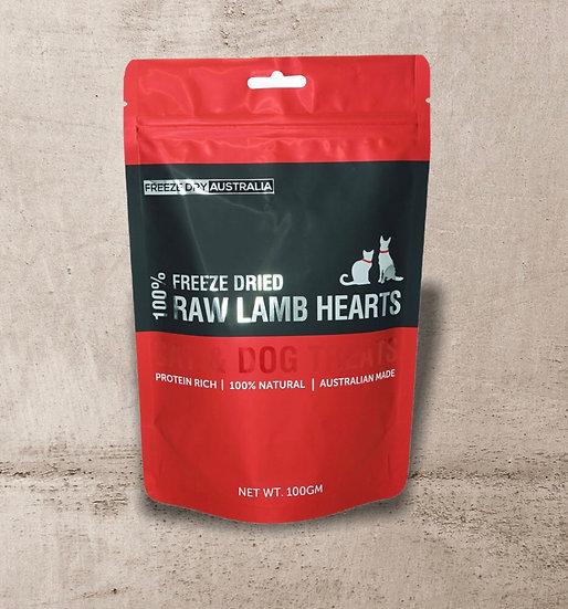 Freeze Dry Australia Diced Lamb Hearts 100g