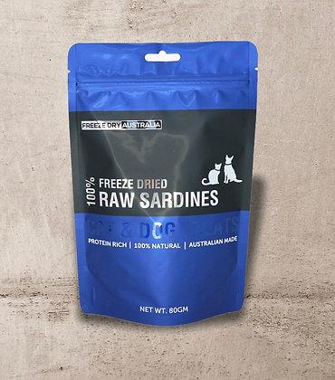 Freeze Dry Australia Whole Sardines 80g