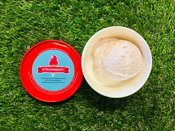 Hugo's Ice Creamery ~ Strawberry Flavour PICK UP ONLY