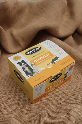 Raw 4 Paws Chicken for Dogs 1.6kg 8 x 200g Portions PICK UP ONLY