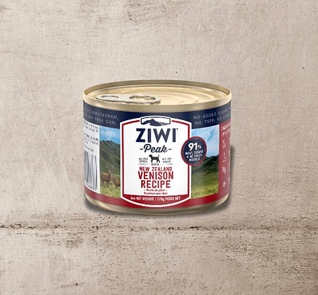 ZIWI Peak Can Venison Recipe for Dogs 170g