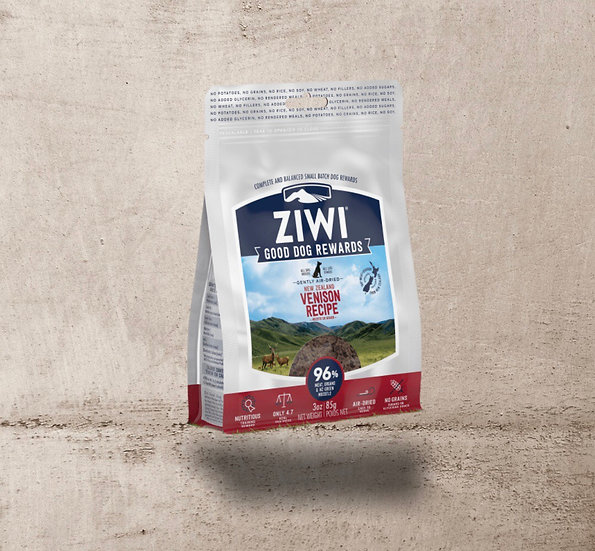 ZIWI Venison Good Dog Rewards™ for Dogs 85g