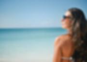 kvnne ved havet, fototype, bikini