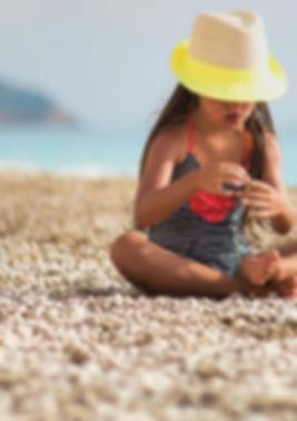 barn soleksponering solbeskyttelse