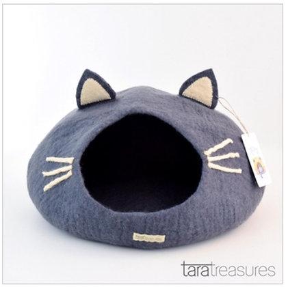 Tara Treasures Cat Cave - Grey Head