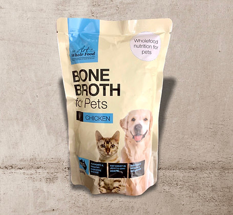 Chicken Bone Broth for Pets 500g