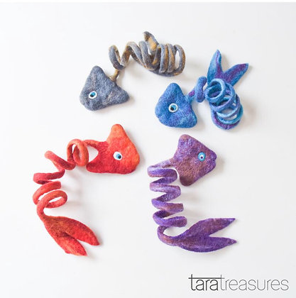 Felt Fish Toy for Cats