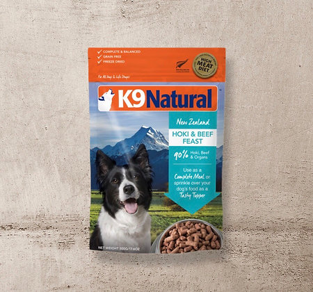 K9 Natural Freeze Dried Hoki & Beef Feast