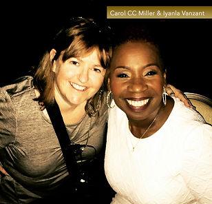 Carol Miller and IyanlaVanzant