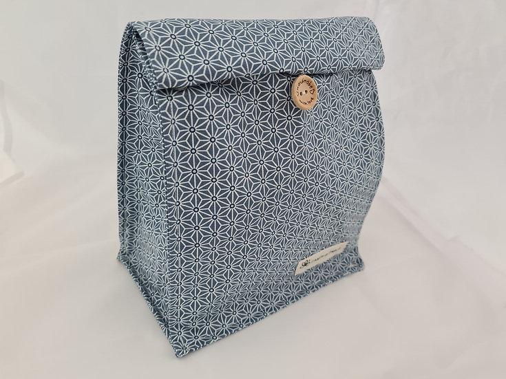 Lunch bag Bleu orage