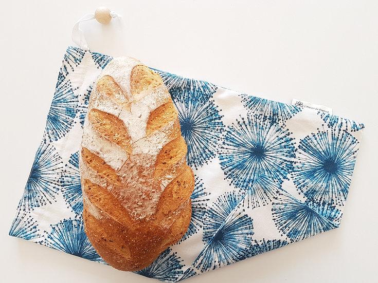 Sac à pain Bleu