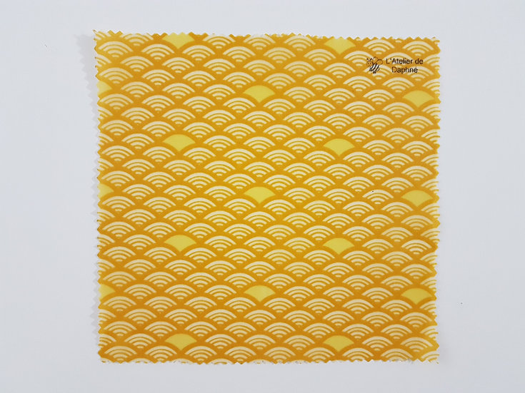Bee Wrap Vagues jaunes
