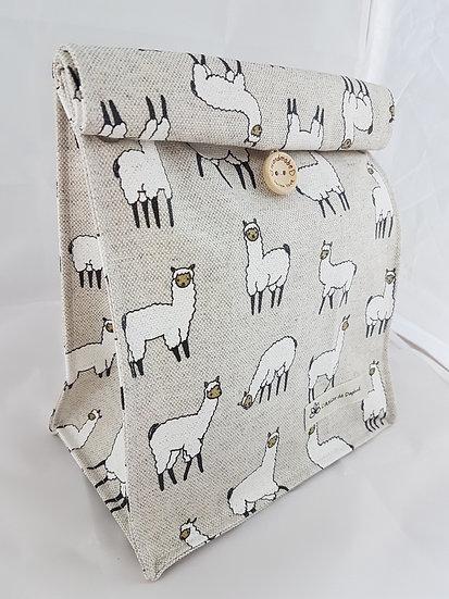 Lunch bag Lamas mat
