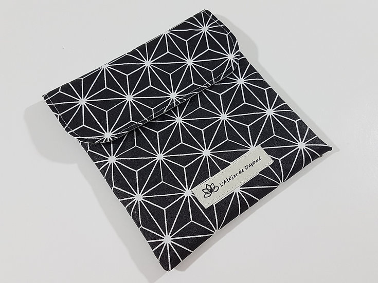 Snack bag Black mat