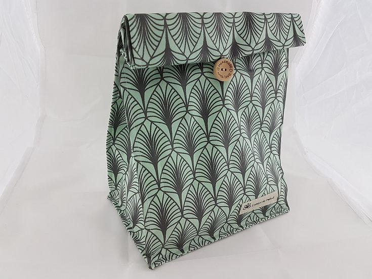Lunch bag Vert mat