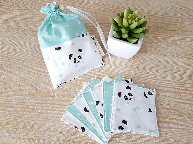 Lingettes pandas