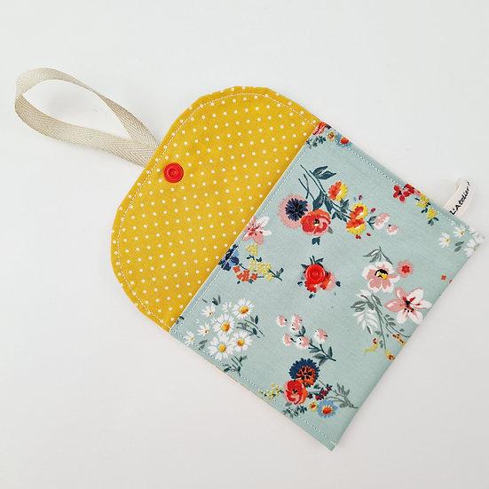 Pochette à savon Fleurettes