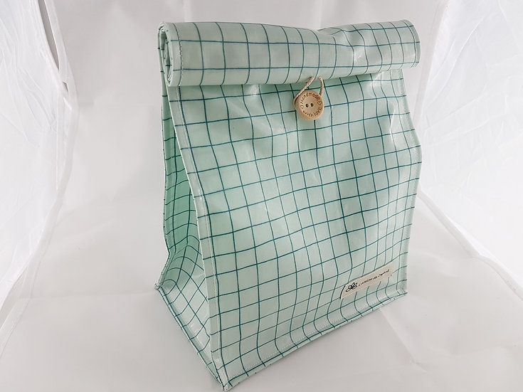 Lunch bag Carreaux vernis