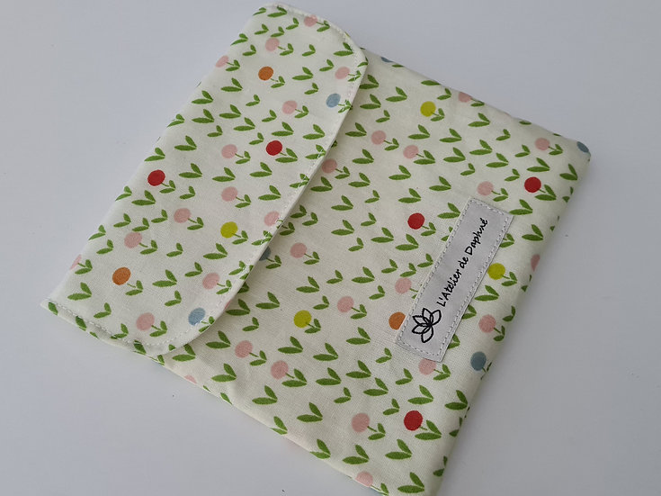 Snack bag Fleurs mat