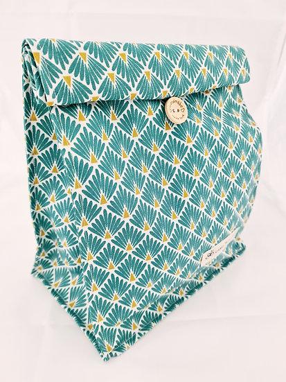Lunch bag Bleu Canard mat