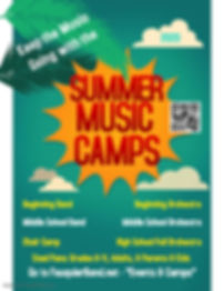 Summer Camp Poster Template - Made with
