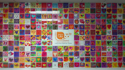 DONOR RECOGNITION ART TILE WALL FLORENCE