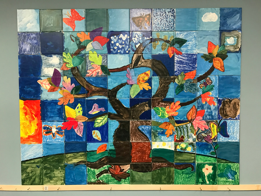 Imagine in New Jersey honored the children in their program with this beautiful tree of life