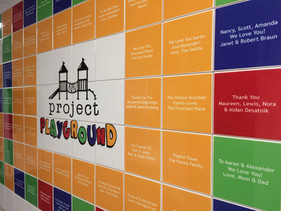 Playground Capital Campaign Donor Wall