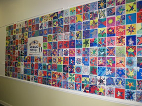 DONOR RECOGNITION ART TILE WALL MILAGRO.