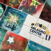 Milagro Center for Teens in Delray Beach creates a legacy tile wall with their teens