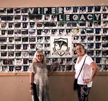 Felix Varela HS's 1st installation of their Legacy Tile Wall