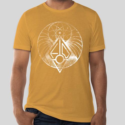 Symbology T-Shirt (Gold)  - Fires of Denmark Shirt