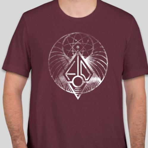 Symbology Maroon - Fires of Denmark Shirt