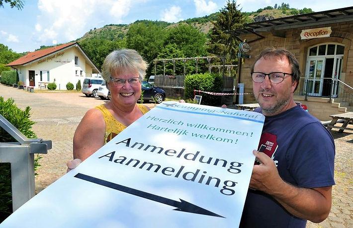 Camping Nahetal Nahewein Weinprobe Weingut