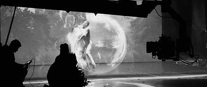 shooting an illusion art movie by Attila