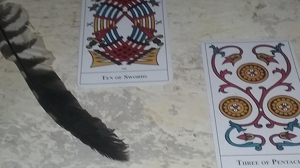 4 card tarot reading